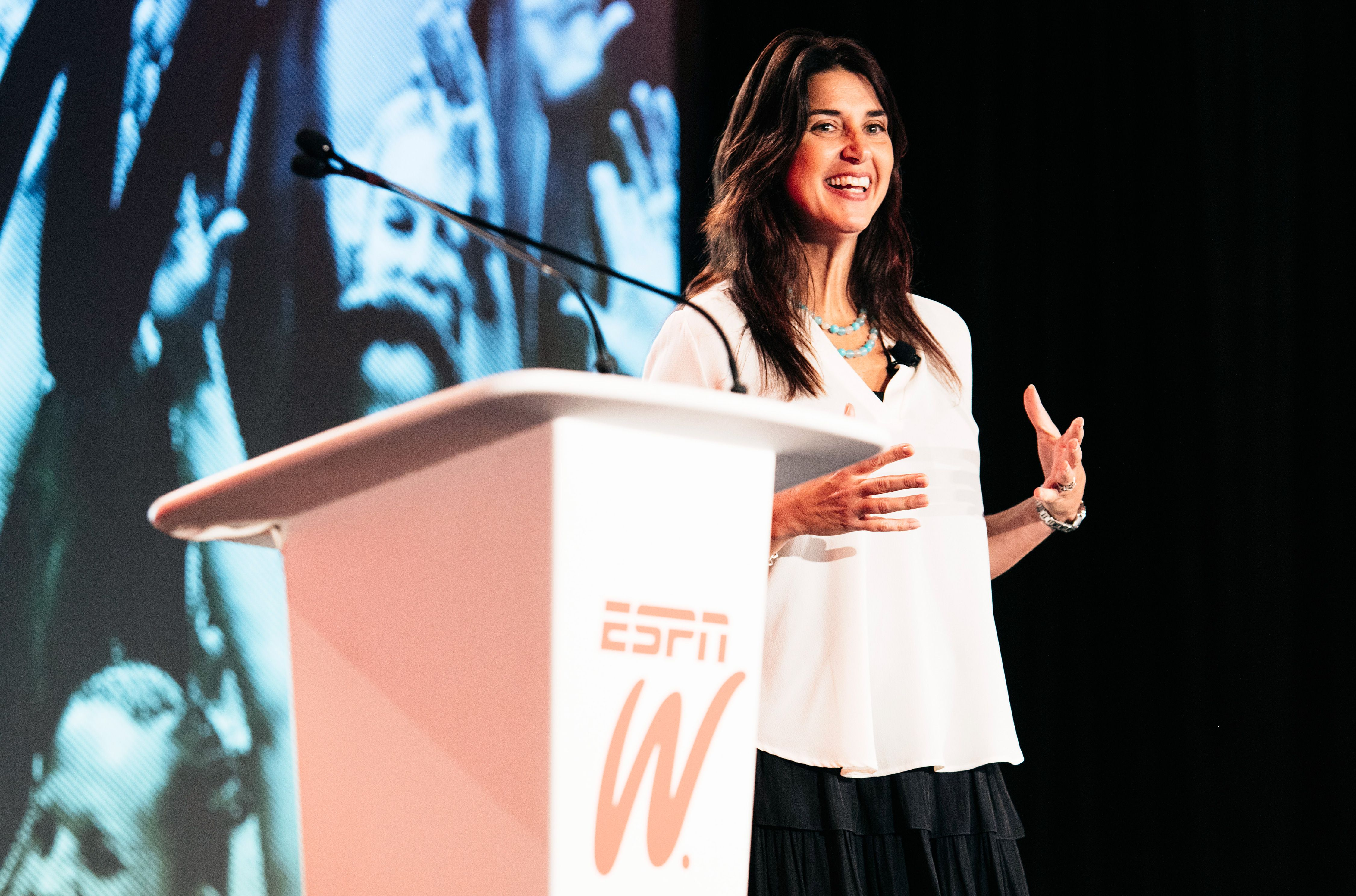 VP and founder of espnW, Laura Gentile