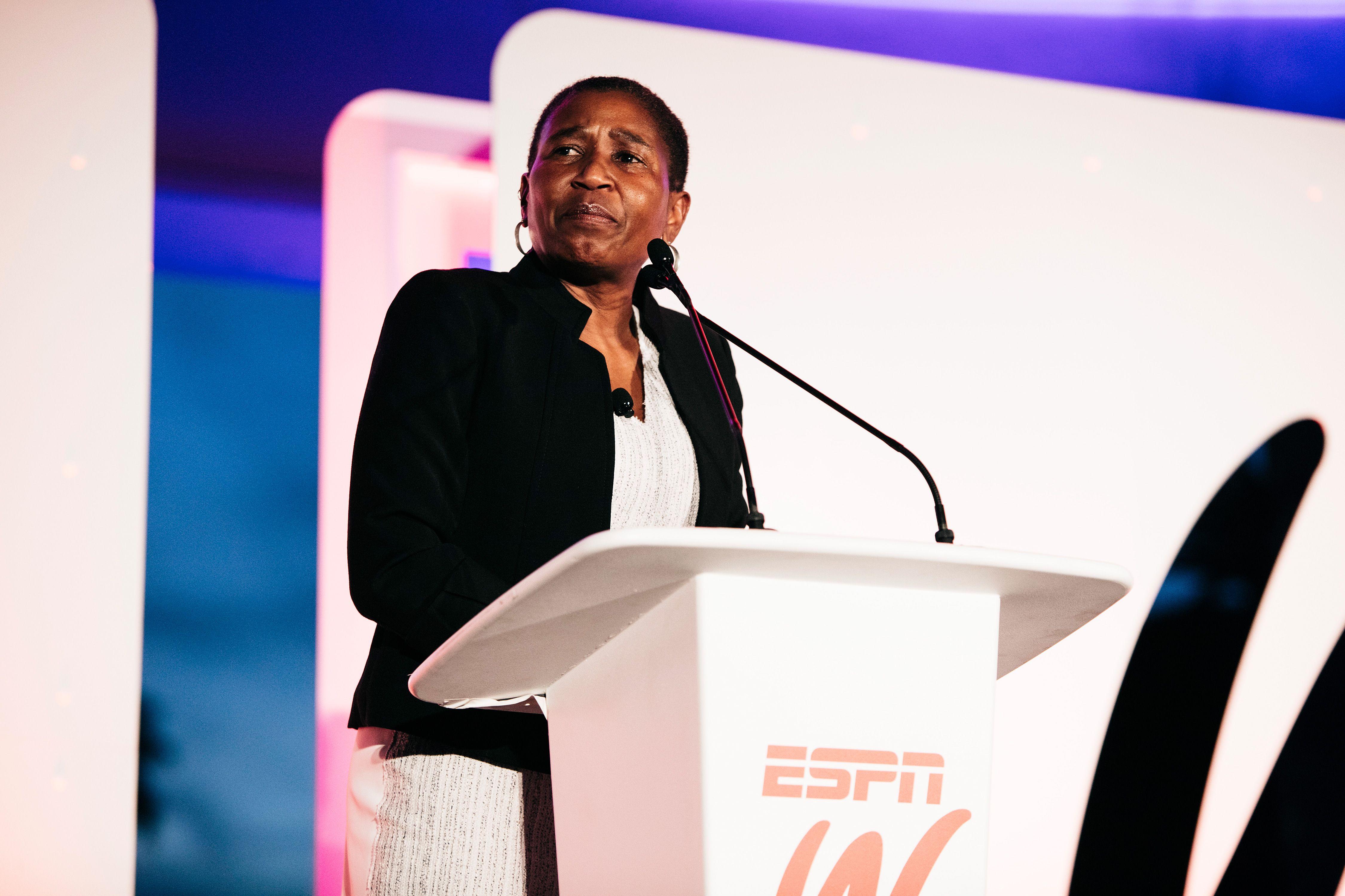 2015 espnW: Women  Sports Summit: Michele Roberts