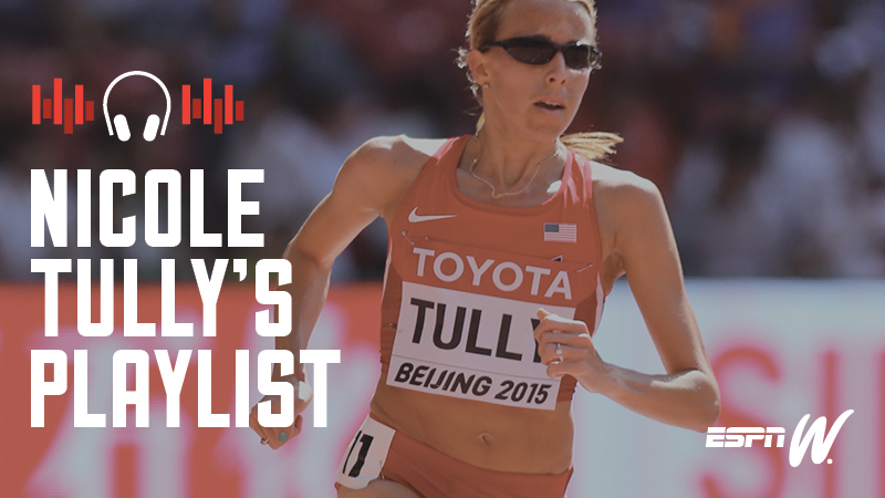 Spotify Athlete Playlist - Nicole Tully