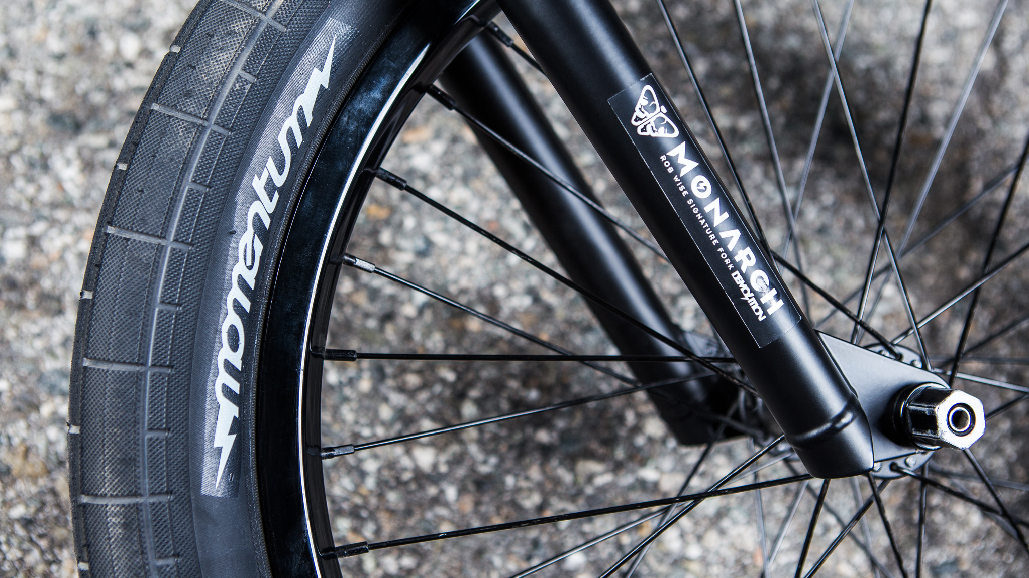 Tires, forks
