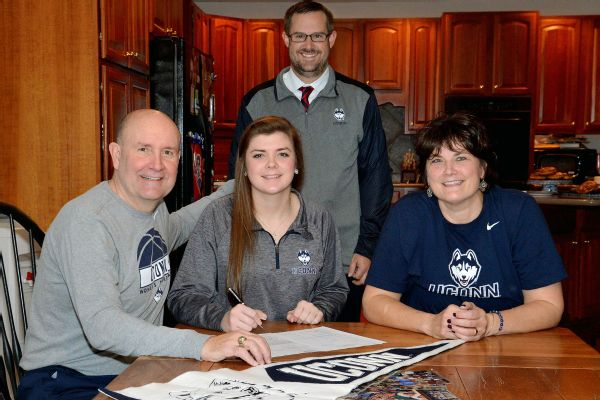 Kyla Irwin Sign's with UCONN