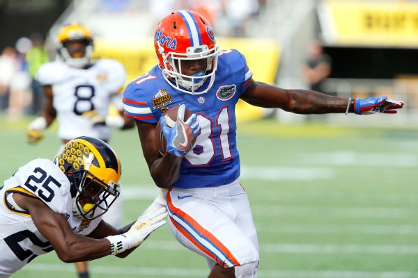 Florida wide receiver Antonio Callaway was cleared of sexual assault after the Title IX hearing officer said the burden of proof, which was a preponderance of evidence, wasn't met in the case.