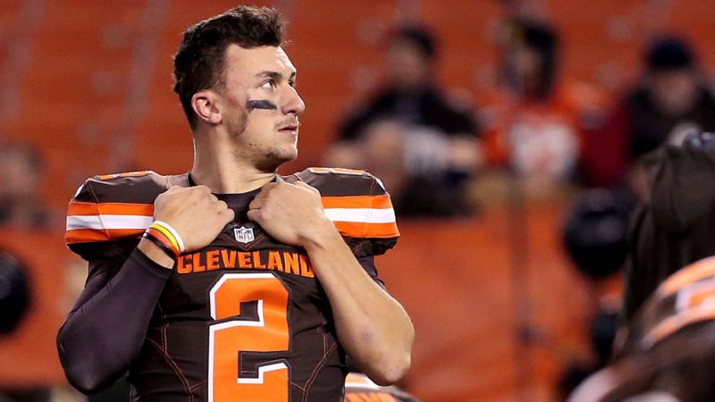 Former Browns quarterback Johnny Manziel was in court Tuesday in an effort to reassure the judge presiding over his domestic violence case that he is still working toward fulfilling prescribed conditions set by the court to have the case dismissed.