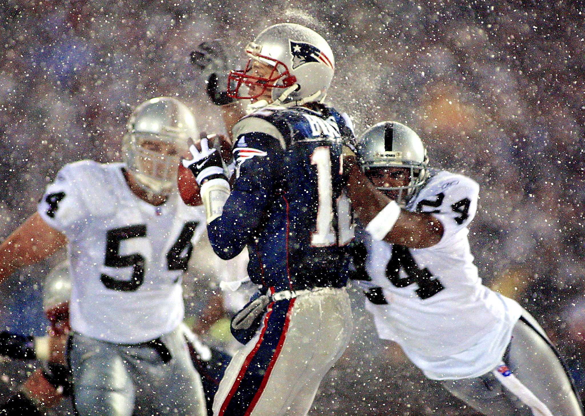 2001 Patriots and Raiders