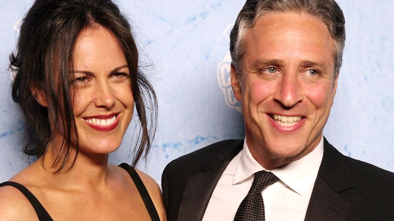 Jon Stewart and Tracey Stewart