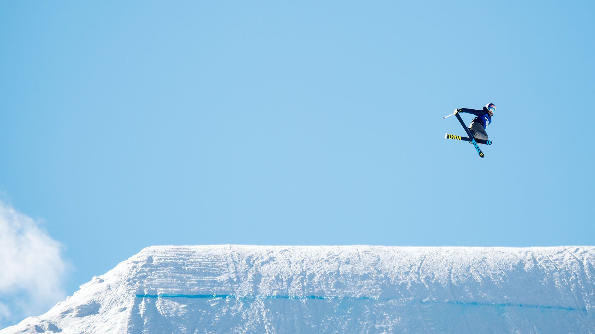 Women's Ski Big Air: Tiril Christiansen