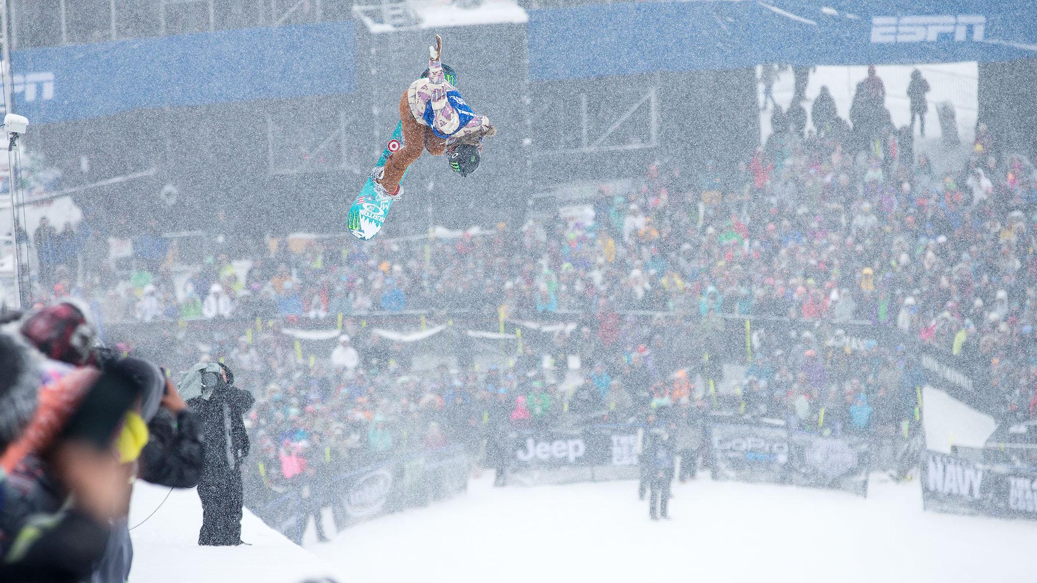 Women's Snowboard SuperPipe: Chloe Kim