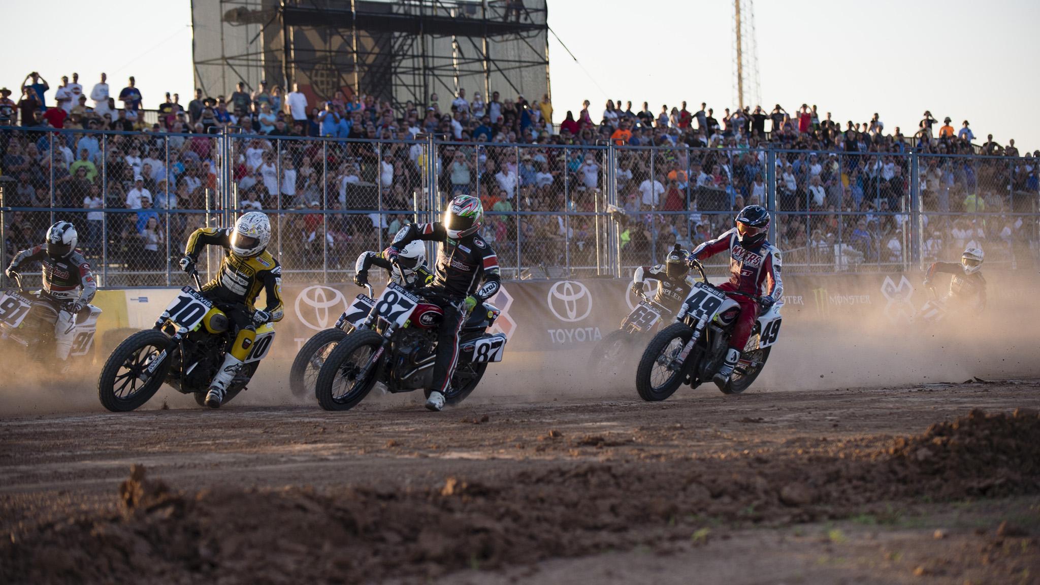 Flat-track racing debuts in Austin