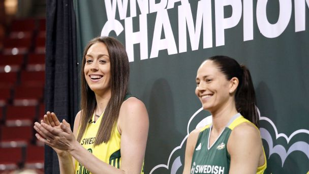 Breanna Stewart, Sue Bird