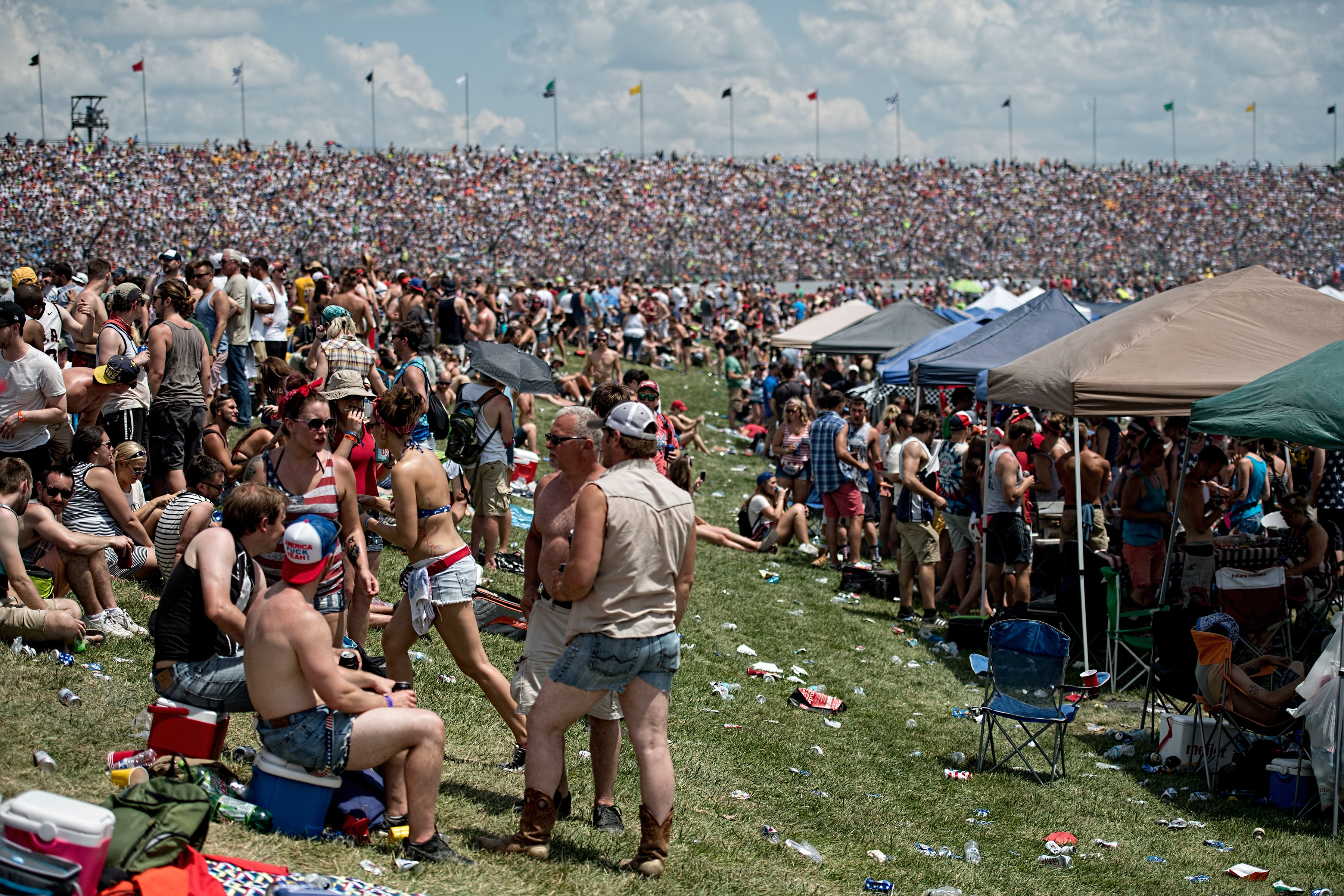 Indianapolis 500 Infield