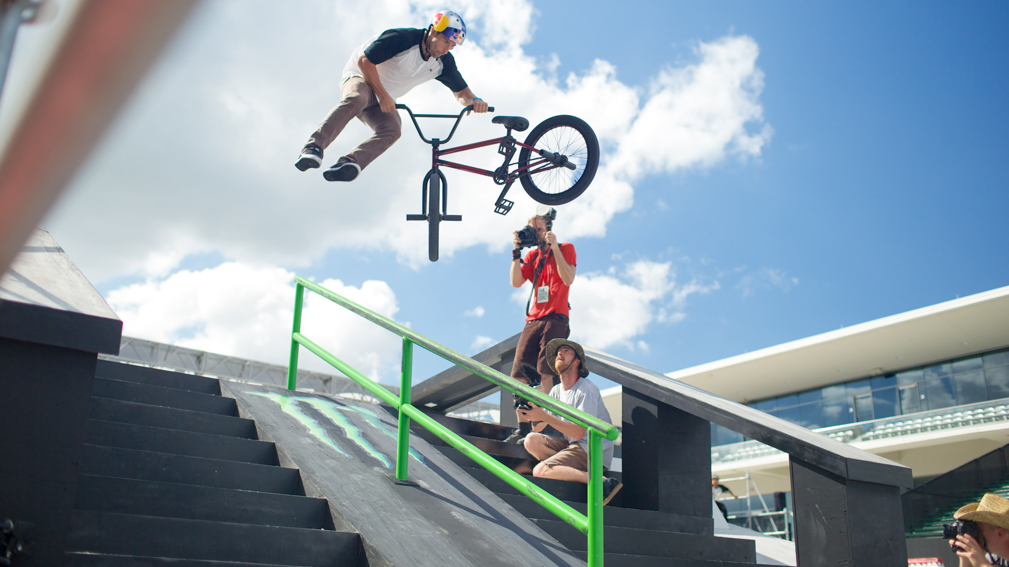 BMX Street, Saturday at 3 p.m.