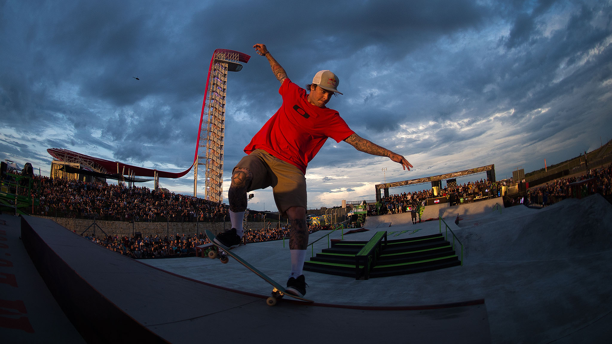 Men's Skateboard Street final ~ Ryan Sheckler