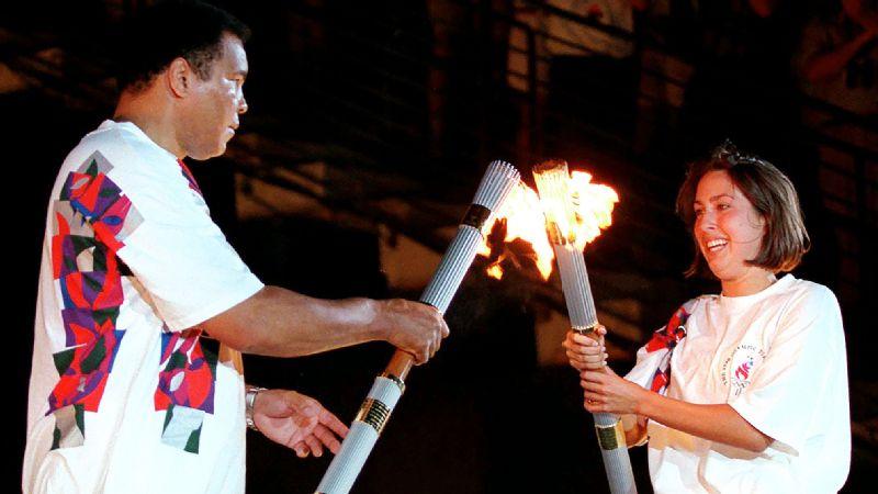 Muhammad Ali, Janet Evans