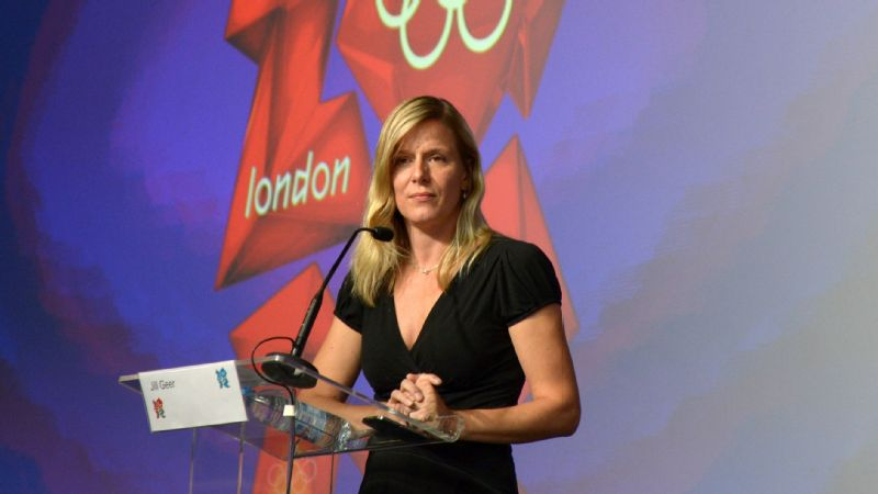 Jill Geer says her job with USA Track & Field has never been boring.