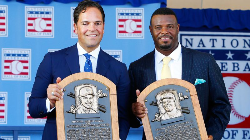 Mike Piazza, Ken Griffey Jr.
