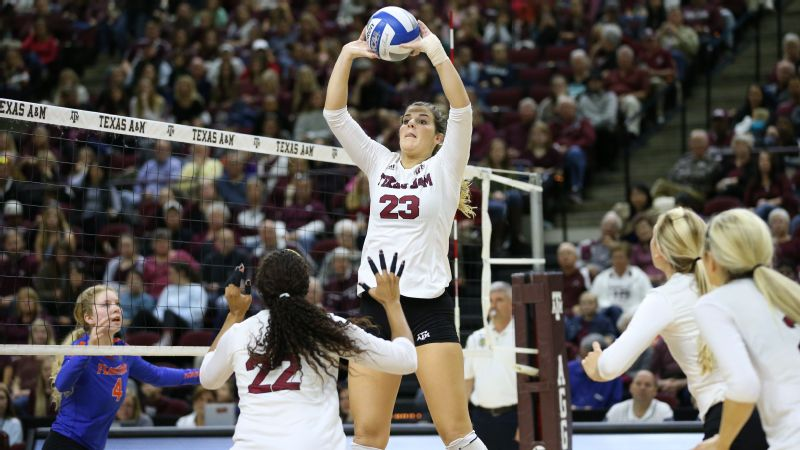 Stephanie Aiple, setter, Texas A&M