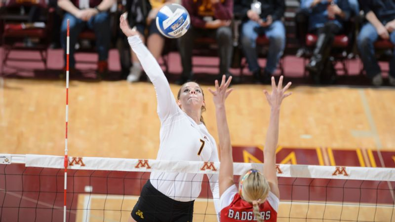Hannah Tapp, middle blocker, Minnesota