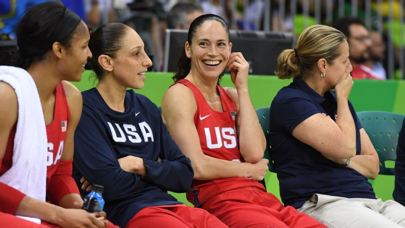 There has been some time to relax at the end of games for Team USA in its first two matchups against Senegal and Spain.