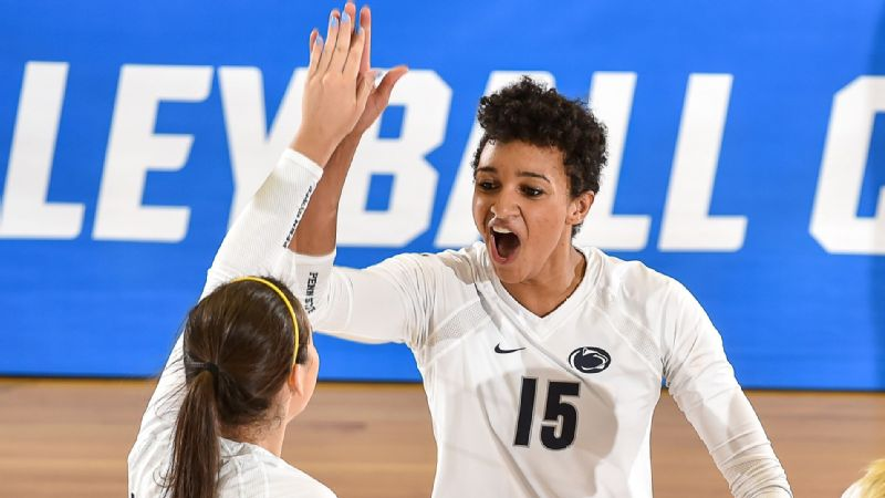 Haleigh Washington, middle blocker, Penn State
