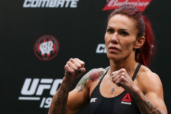 While Cris Cyborg Justino said she's set to fight Germaine de Randamie at UFC 214, de Randamie's manager said Tuesday that the fight is not yet official.
