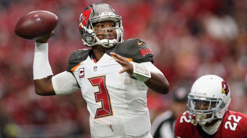 Speaking to a group of elementary school-aged children, Tampa Bay Buccaneers quarterback Jameis Winston told the boys they had to be strong and the girls are supposed to be silent, polite [and] gentle.