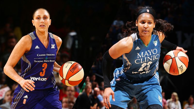 Diana Taurus and Maya Moore