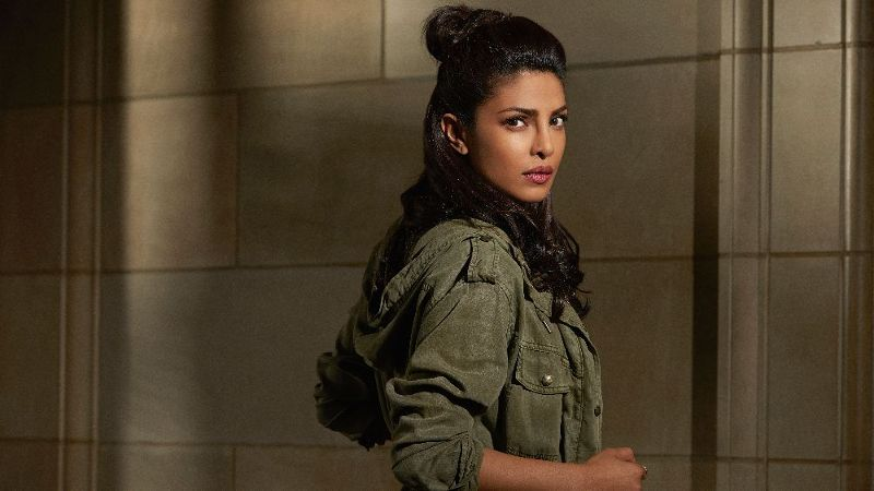 Priyanka Chopra stars as Alex Parrish in ABC's Quantico.