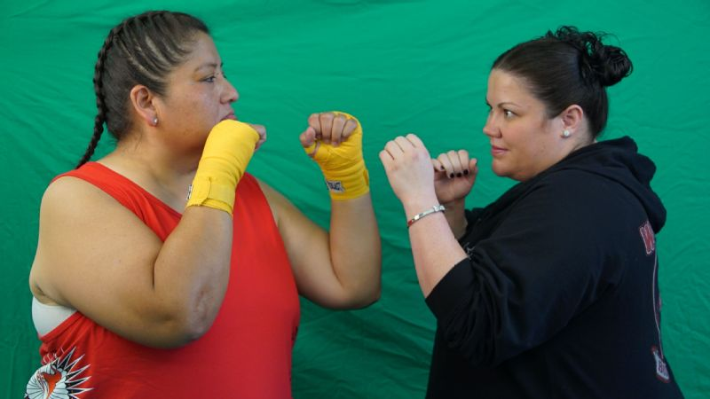 Carol Limpy (left) will face Beth Farmer (left) at Firelake Casino in Shawnee, Oklahoma, on Oct. 1. Farmer has one distinct advantage over Limpy: youth.