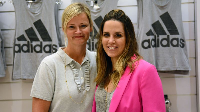 Nicole Vollebregt, global head of women's business, and Kelly Olmstead, vice president of brand activation, have both tried to lead the charge in focusing Adidas' marketing strategies on women.
