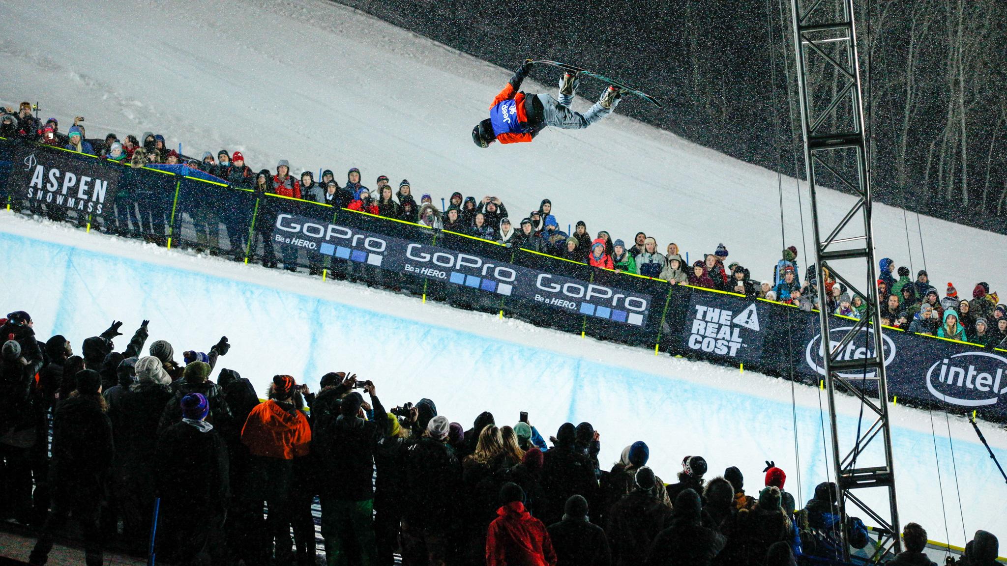 Men's Snowboard SuperPipe