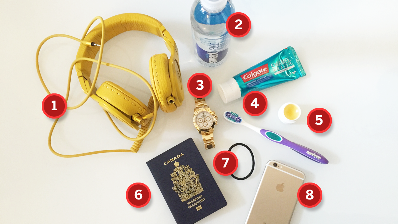 What's In My Bag - Eugenie Bouchard