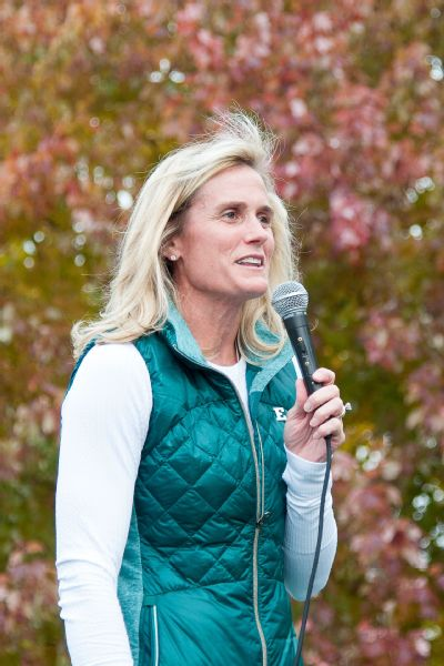 I can build relationships with donors and board members just as well as a man can. You have to have the self-confidence to do the job, Heather Lyke says of being a woman athletic director.