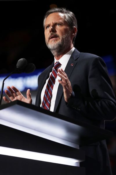 Jerry Falwell Jr. (shown) says of Ian McCaw, I can't think of an athletic director in the country who is more sensitized to the importance of complying with the intricacies of Title IX.