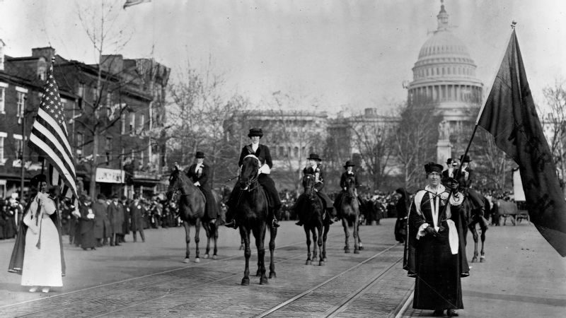 Suffrage march of 1913