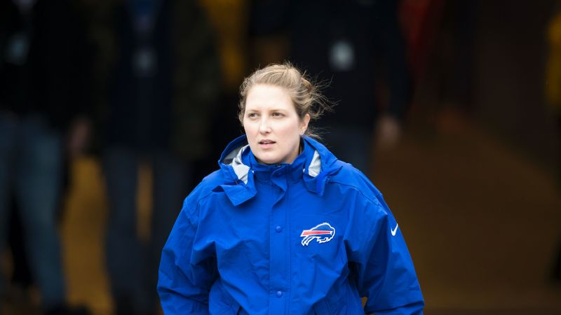The NFL is holding a career summit to advise women on how to get into operations or coaching roles, like the one held by Bills assistant coach Kathryn Smith.