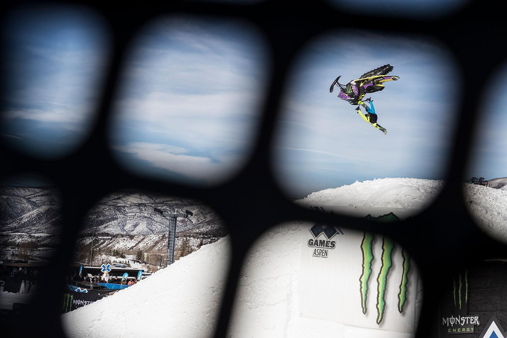 Joe Parsons, Snowmobile Freestyle