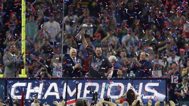 Tom Brady, New England Patriots, Super Bowl LI
