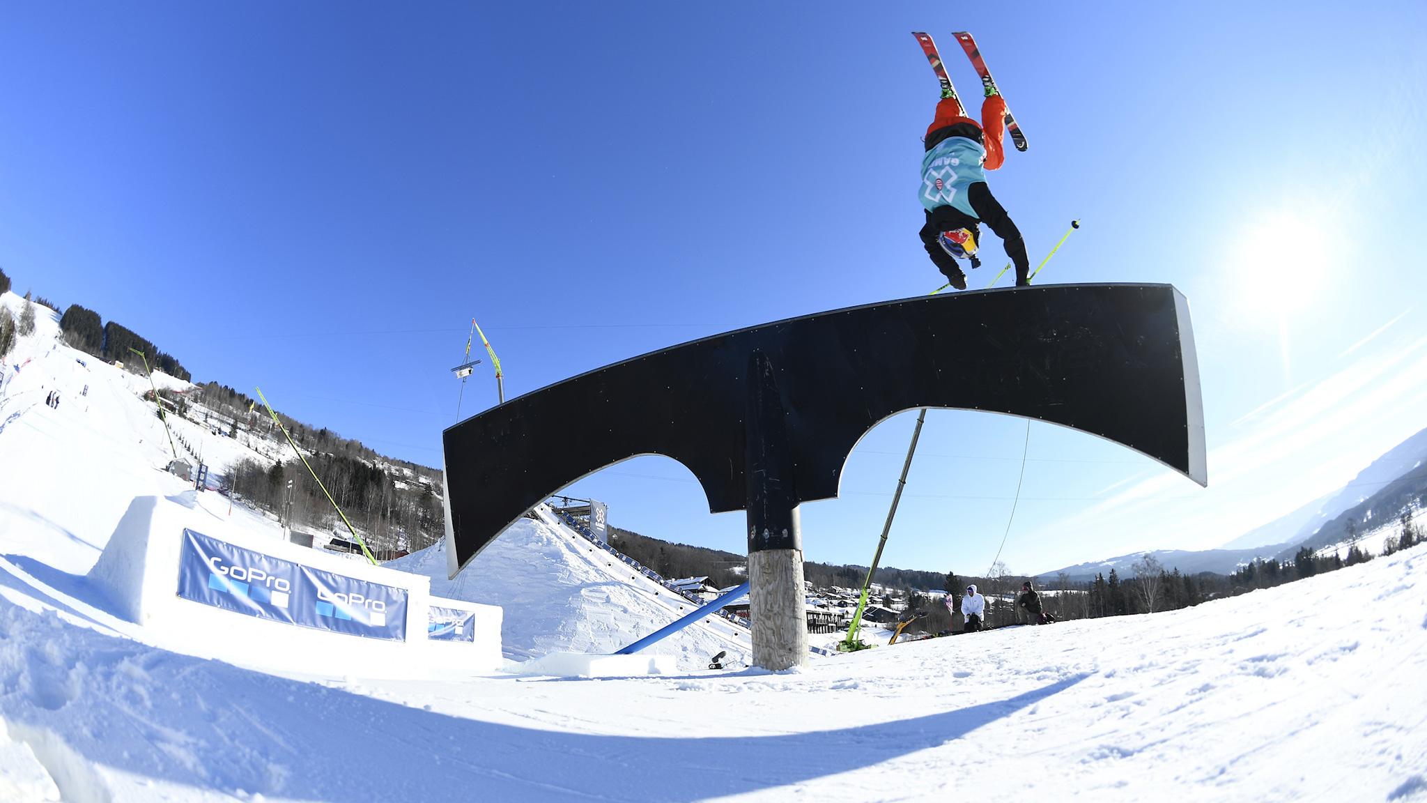 Jesper Tjader, Men's Ski Slopestyle practice
