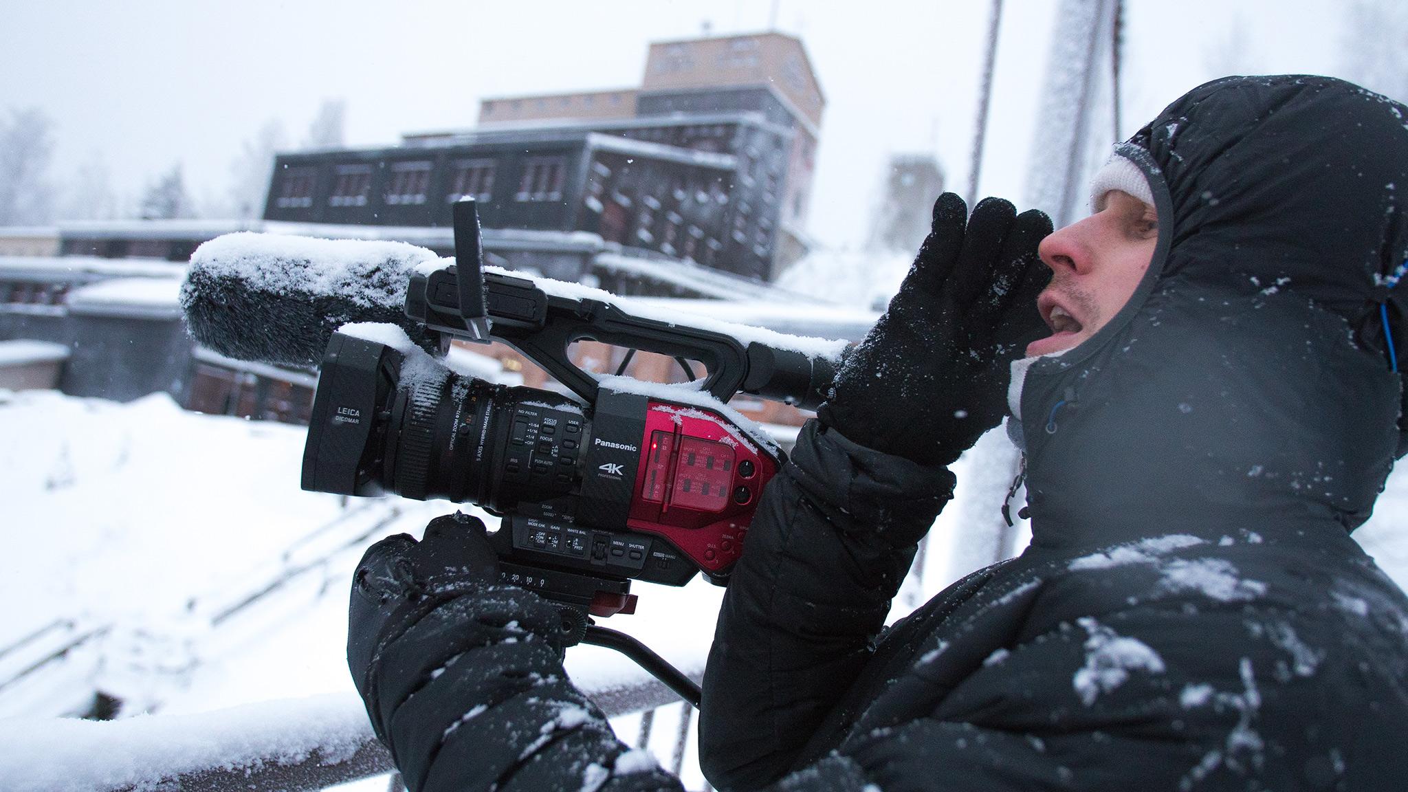 Kerkelä's filming teammate: Petrus Koskinen