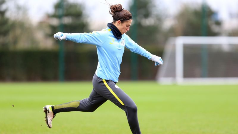 Carli Lloyd, who's playing in England with Manchester City, says international competition is getting stronger: Long gone are the days of just being athletic, fast and fit. You've got to bring some skill with that too.