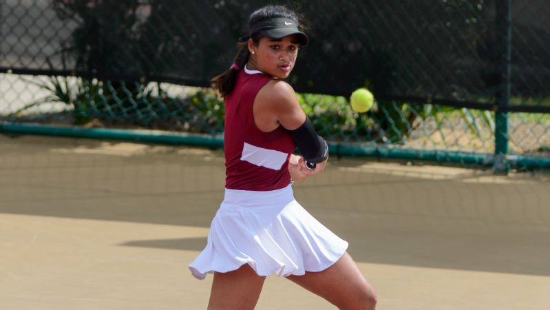 Das plays at No. 1 doubles and No. 2 singles as a freshman for Florida State.