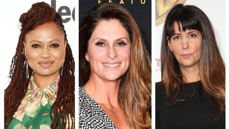 From left, Ava DuVernay, Niki Caro and Patty Jenkins are all making strides to close the gender gap in filmmaking.