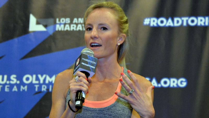 While she continues to recover from a back injury, Shalane Flanagan will be doing on-air commentary of this year's Boston Marathon.
