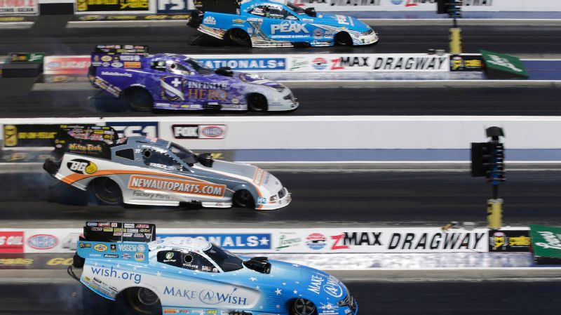 Funny Car Four-Wide Nationals