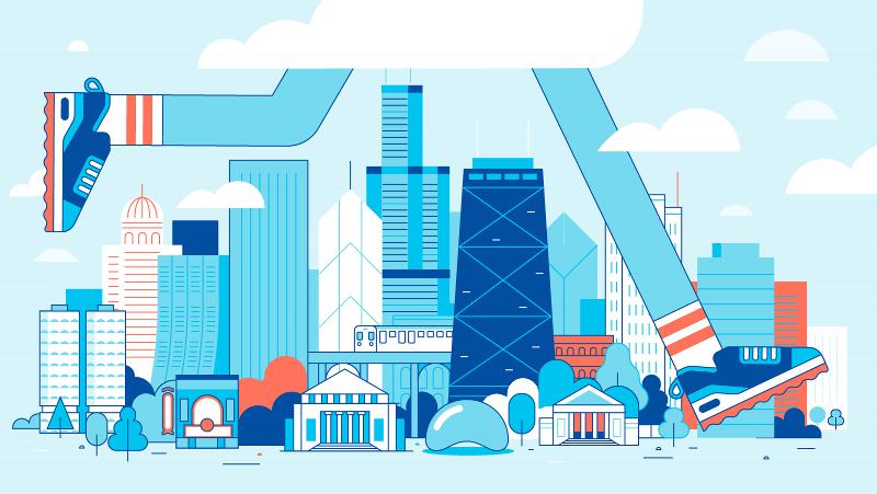 Run This Town: Chicago - Skyline