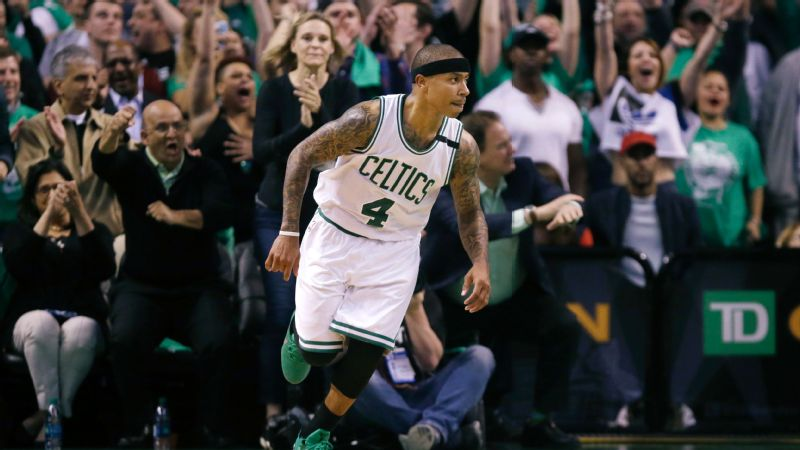Despite a relatively short tenure -- no pun intended -- with the team, Isaiah Thomas will always be remembered warmly by Celtics fans.