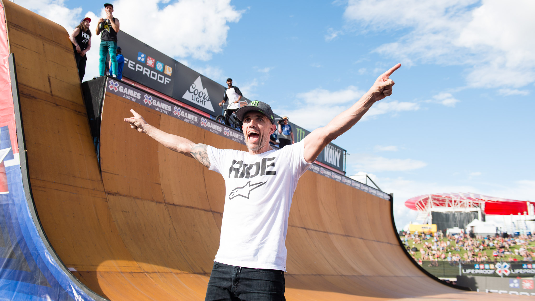 Jamie Bestwick: BMX Vert