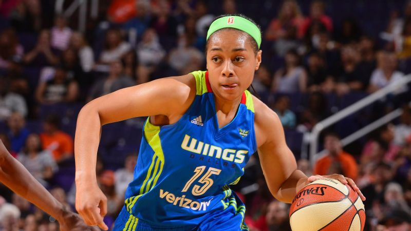 Allisha Gray helped the Dallas Wings reach the playoffs this season.