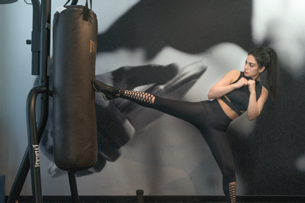 Emeraude Toubia trains for the physical demands of her role.