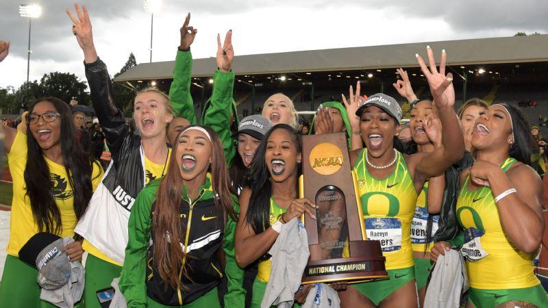 Oregon women celebrate